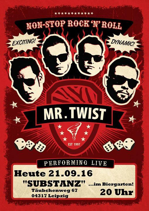 Heute / 2Nite: Leipzig @ Substanz ab 20.00 !!! Biergarten-Saisonabschluss mit MR