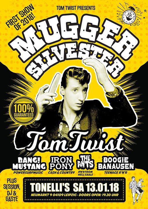 Mugger Silvester - 5 Rockin' Live Acts!