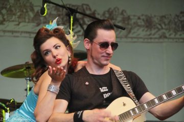 Dessau OPEN AIR - UNDER THE BRIDGE / Mister Twist & Miss Rhyhtm Sophie