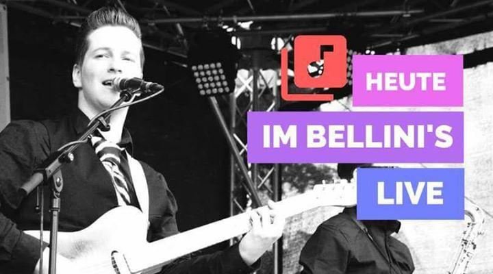 Heute live im Bellini's /  #Leipzig! Startschuss 21:00Uhr.