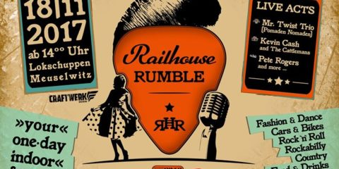Meuselwitz Railhouse Rumble mit Mr. Twist Trio