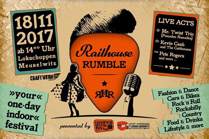 Meuselwitz Railhouse Rumble mit Mr. Twist Trio