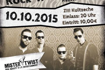Meuselwitz ZIII Kultzeche / 2nd RnR-Night mit Mister Twist