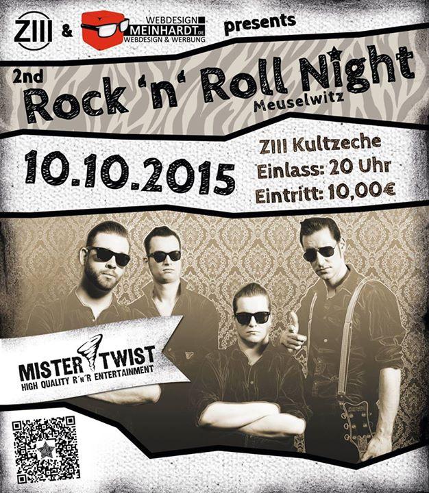Meuselwitz ZIII Kultzeche / 2nd RnR-Night mit Mister Twist
