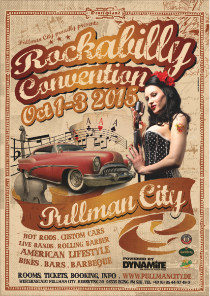 Pullman City (Eging am See): Rockabilly Convention mit Miss Rhythm Sophie & Mister Twist