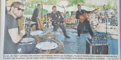 War sehr cool gestern im Gut Graßdorf! Heute freuen wir uns auf Nürnberg / Hango