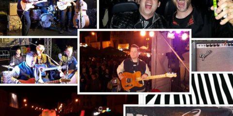 Weekend Impressions: Die Band erholt sich so langsam vom furiosen Wochenende. Zu