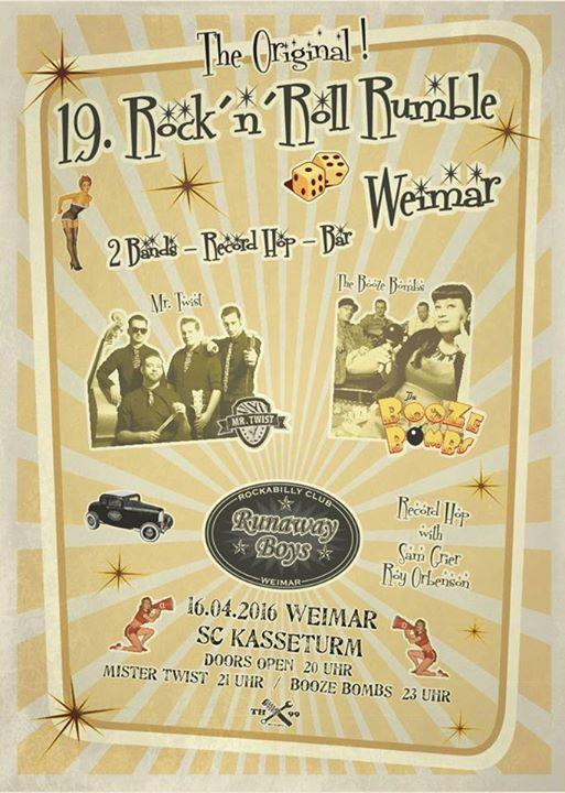 Weimar Kasseturm: Mr. Twist & Booze Bombs