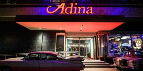 TOM TWIST bei der Feierlichkeit im Adina Apartment Hotel! Fotos by Eric-Kemnitz.