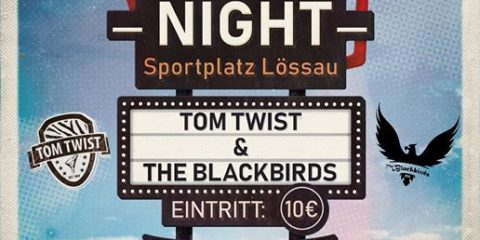 Eine stressfreie Woche wünschen TOM TWIST! Sehen wir uns am Samstag in Lössau b.