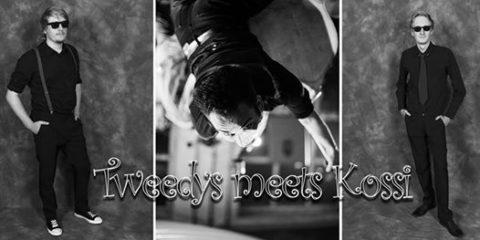 Tweedys meets Kossi beim Rock'n'Roll Stammtisch im Tonellis