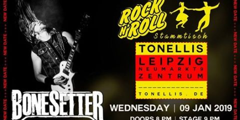 Bonesetter beim Rock'n'Roll Stammtisch im Tonelli's