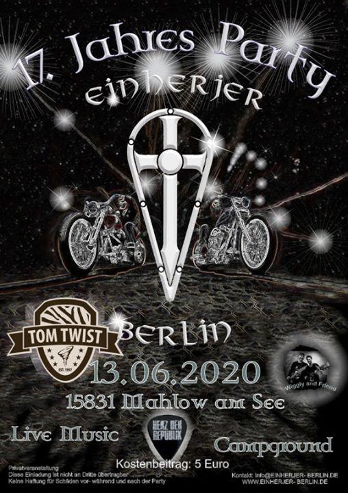 TOM TWIST in Mahlow b. Berlin |
