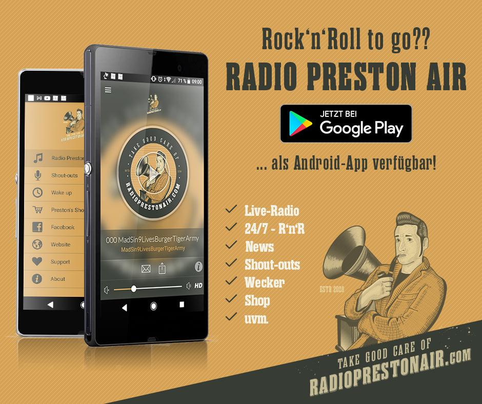 "R'n'R Weekender on ""Radio Preston Air"" - Plan für 23./24. Ja"